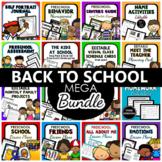 Back to School Mega Bundle-Beginning of the Year in Preschool