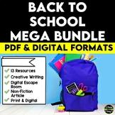 Back to School Mega Bundle | Distance Learning