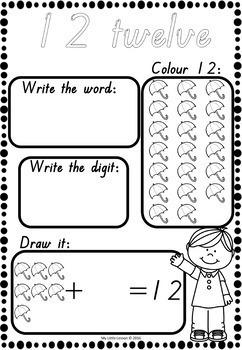 Back to School Mega Bundle QLD Beginners Font: Alphabet and Number