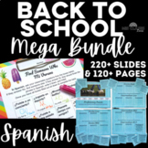 Back to School: Mega Bundle for all levels of Spanish class