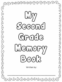 Back to School Memory Book