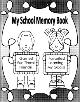 All About Me Memory Book!  No Prep! Just print!  Writing I