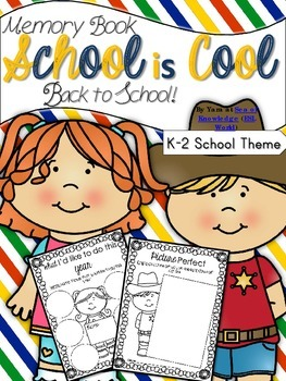 Back to School Memory Book {School is Cool} School Themed K-G1