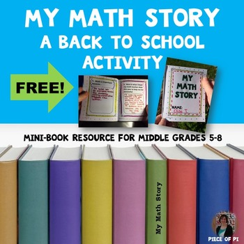 Back to School Middle Grades Writing in Math