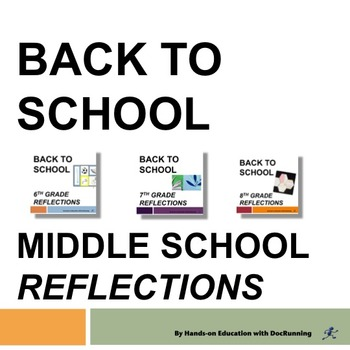 Back to School Activity Bundle for Middle School ($ SAVE$)