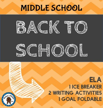 Back to School - Middle School ELA