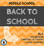 Back to School - Middle School