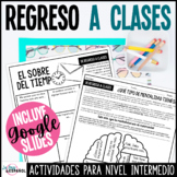 Spanish Back to School Activities | Actividades para el re