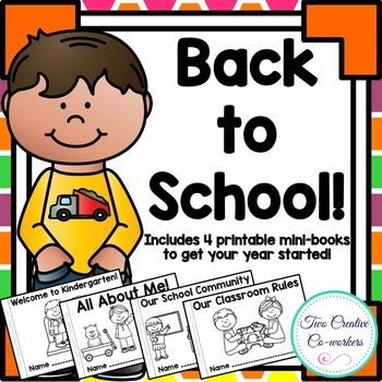 Back to School Mini Book Bundle