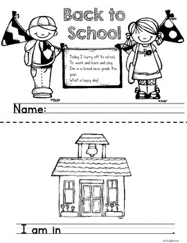 Back to School Mini-Book Freebie