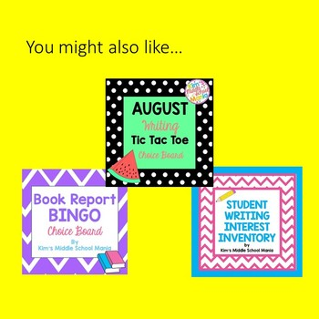 Back to School Mini Bundle Get to Know Your Students