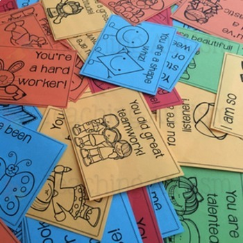 Back to School Compliment Cards