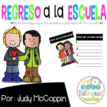 Back to School Mini Lessons *Spanish*