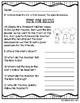 Back to School Mini Stories and WH Comprehension Questions Set 2