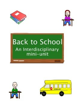 Back to School Mini Unit