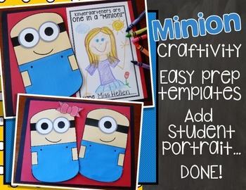 "Back to School ""Minion"" Craftivity"