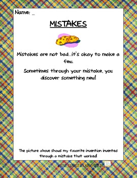Back to School Mistakes Are OK!
