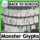 Back to School Bulletin Board   Monster Glyphs   Community