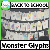 Back to School Bulletin Board | Monster Glyphs | Community