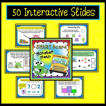 SMARTboard Activities Math Monsters