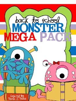 Back to School Monster Mega Pack!