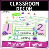 Back to School - Monster Theme - Classroom Decorations