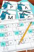 Kindergarten Back to School Monters Centers for Math and Literacy Activities