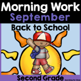 Back to School Morning Work {Second Grade}