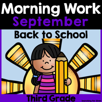 Back to School Morning Work {Third Grade}