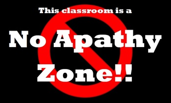 """Back-to-School Motivational """"Apathy"""" Poem"""