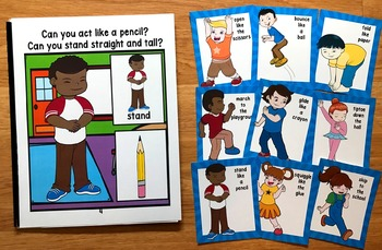 Back to School Movement Cards (And Book!)