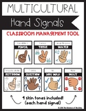 Back to School - Multicultural Hand Signal Posters