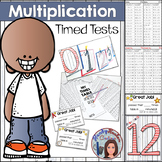 Multiplication Timed Tests and Practice Booklet