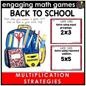 Back to School Multiplication Strategies