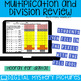 Back to School Multiplication and Division Practice DIGITAL Mystery Pictures