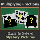 Multiplying Fractions By Fractions Activity Back To School High School Math