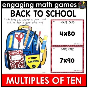 Back to School Multiplying by Multiples of Ten