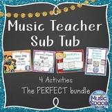 Music Sub Tub Plans Bundle