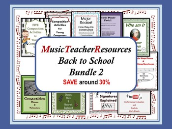 Back to School Music Bundle 2
