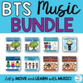 Back to School Music Class Lessons Bundle of Songs, Games,