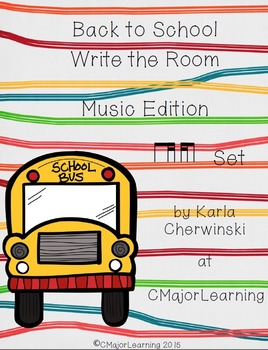 Back to School Music Edition ti-tika tika-ti Set