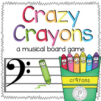 Back to School Music Game: Crazy Crayons