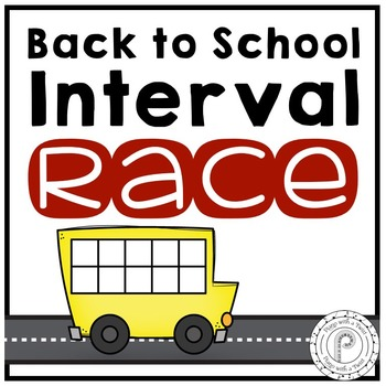 Back to School Music Game: Interval Race