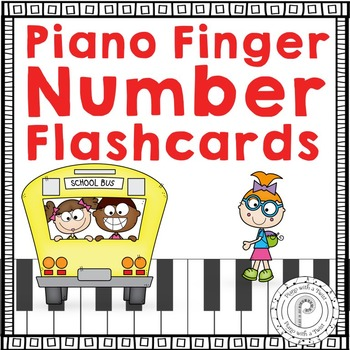 Back to School Music Game: Piano Finger Numbers