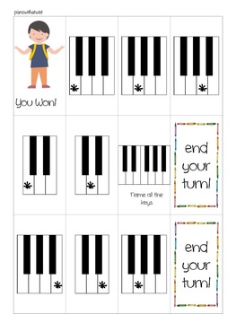 Back to School Music Game: Race to School