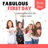 Back to School Music Lesson Plans and Materials {Fabulous