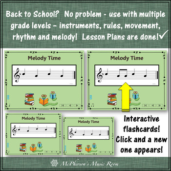 Back to School (Music Time): Orff, Rhythm, Melody, Instruments and More