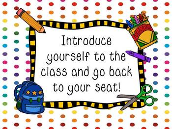Back to School Musical Chairs - Techie Style