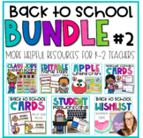 Back to School Must Have BUNDLE
