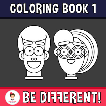 Back to School - My Coloring Book V.1 Clipart
